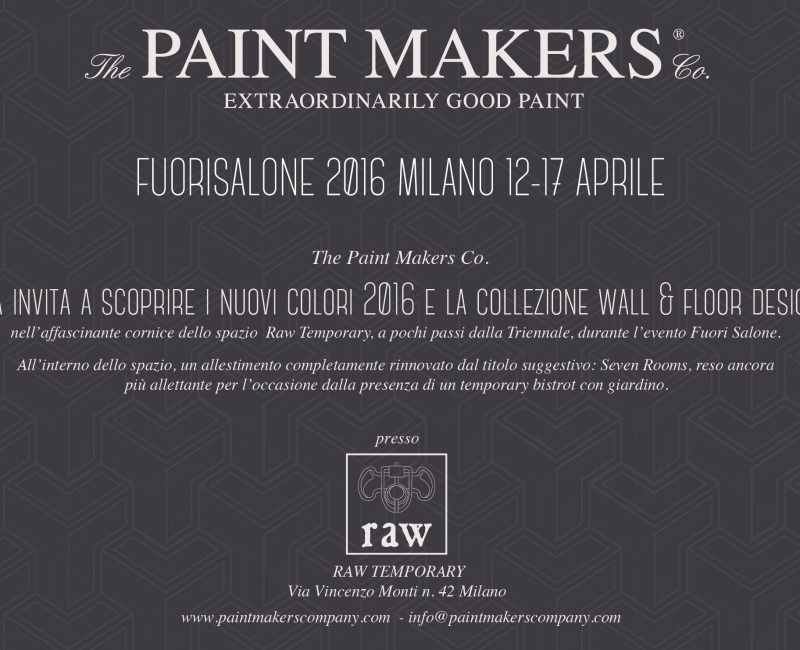 Paint Makers & BHC presso Raw